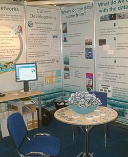 BODC stand at Oceanology International 2006