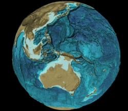 The GEBCO_08 Grid - a global bathymetric grid with 30 arc-second spacing