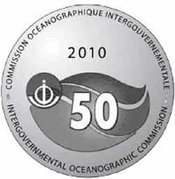 The IOC 50th Anniversary Commemorative Medal