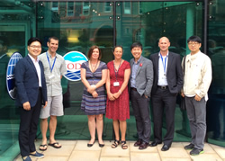 Some of the BODC Senior Management team with the Korean delegates