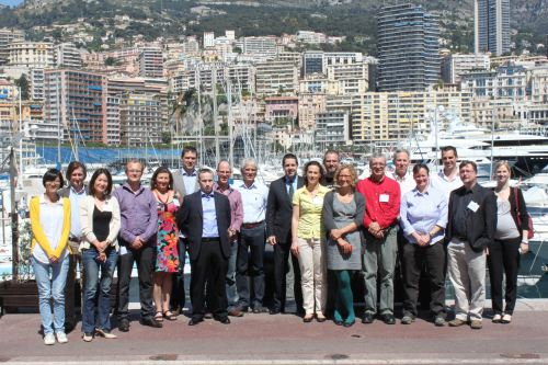 Delegates at the expert meeting on the management of ocean acidification biological response data.