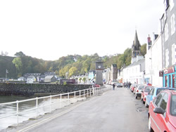 The seafront at Tobermory