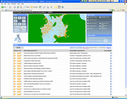 UKDMOS - a searchable database of information relating to UK marine monitoring activities