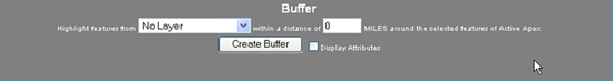 Buffer dialogue box