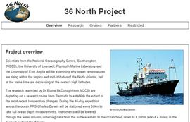 36 North project official web site