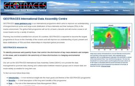 GEOTRACES International Data Assembly Centre (GDAC)