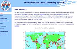 Global Sea Level Observing System (GLOSS) official web site