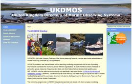 UKDMOS – UK Directory of the Marine-Observing Systems