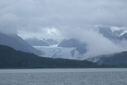 Mendenhall Glacier, Alaska - under threat from climate change.