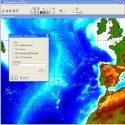 exporting GEBCO's gridded bathymetric data sets
