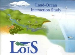 Schematic diagram showing the environments studied during the LOIS project