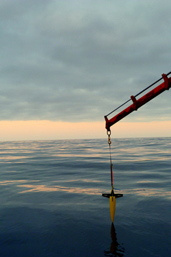 Monitoring the OSBL with a Seaglider.