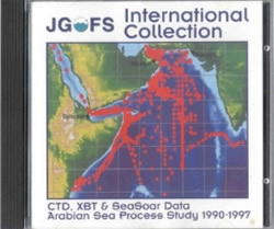 JGOFS International Collection Arabian Sea Process Study CDROM