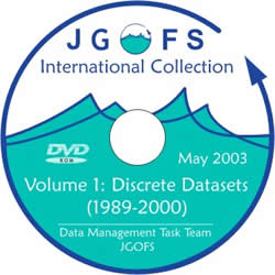 JGOFS International Collection Volume 1: Discrete Datasets (1989-2000) DVD